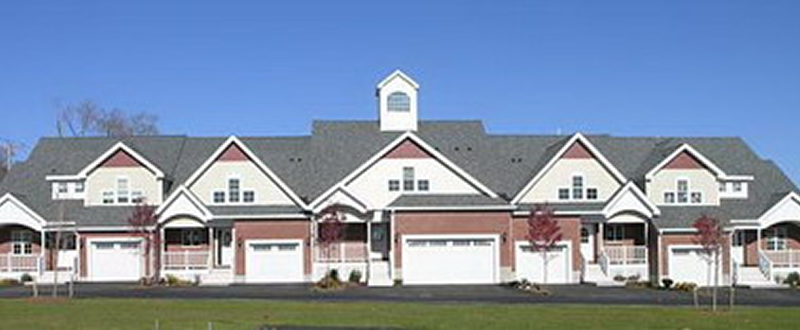 Exterior Photograph of Village Townhomes in Foxboro, MA