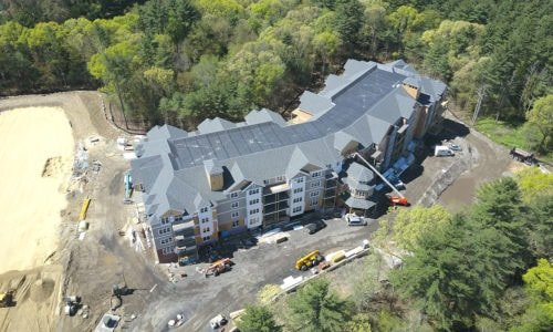 Aerial Image of Water Pointe Condominiums