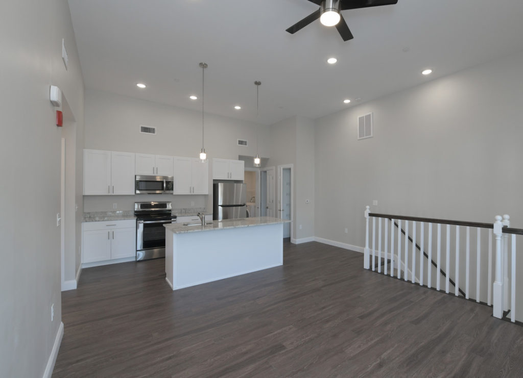 River Meadows Phase II - Kitchen and Living Room