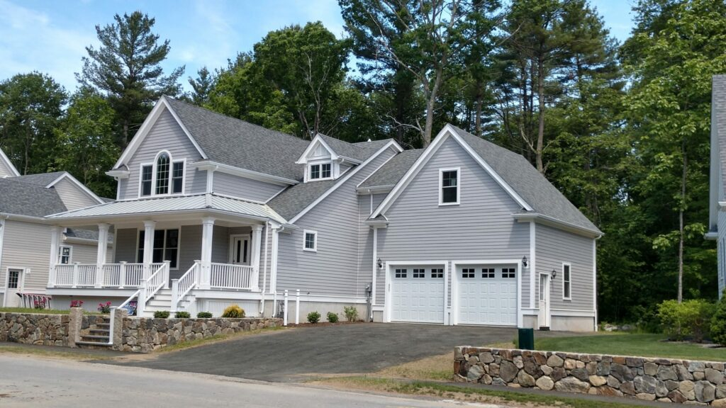 Angle Exterior Photograph of Lot 2, 13 Matthew Circle, North Easton MA