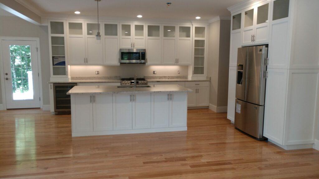 Photograph of Kitchen at Lot 2, 13 Matthew Circle, North Easton MA