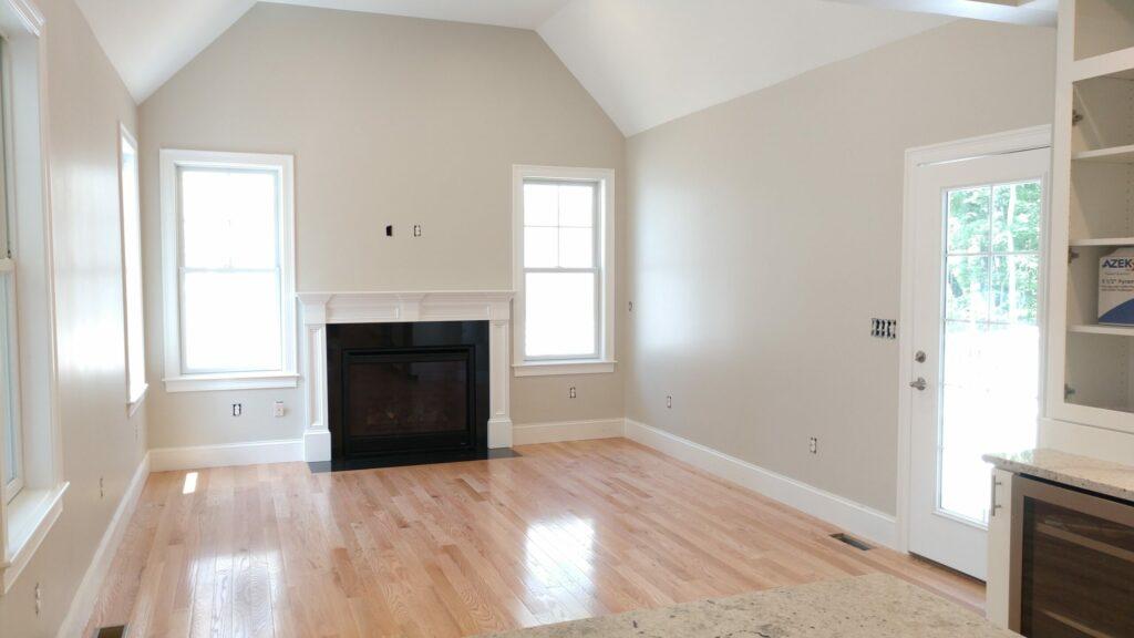 Photograph of Living Room at Lot 2, 13 Matthew Circle, North Easton MA